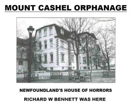 mount cashel orphanage richard w bennett