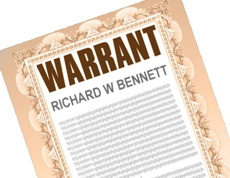 Arrest Warrant Richard W Bennett