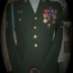 Aaron's Memorial uniform.